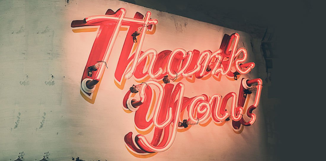 Client Appreciation: Tips For Doing It Right, Thank You Image
