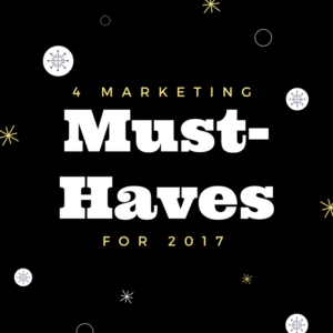 marketing must-haves