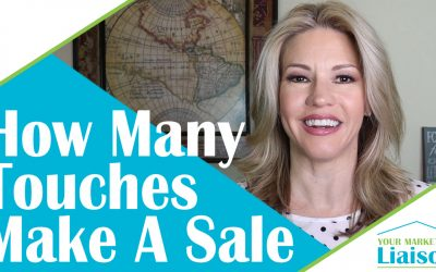 How Many Touches Does It Take To Make The Sale