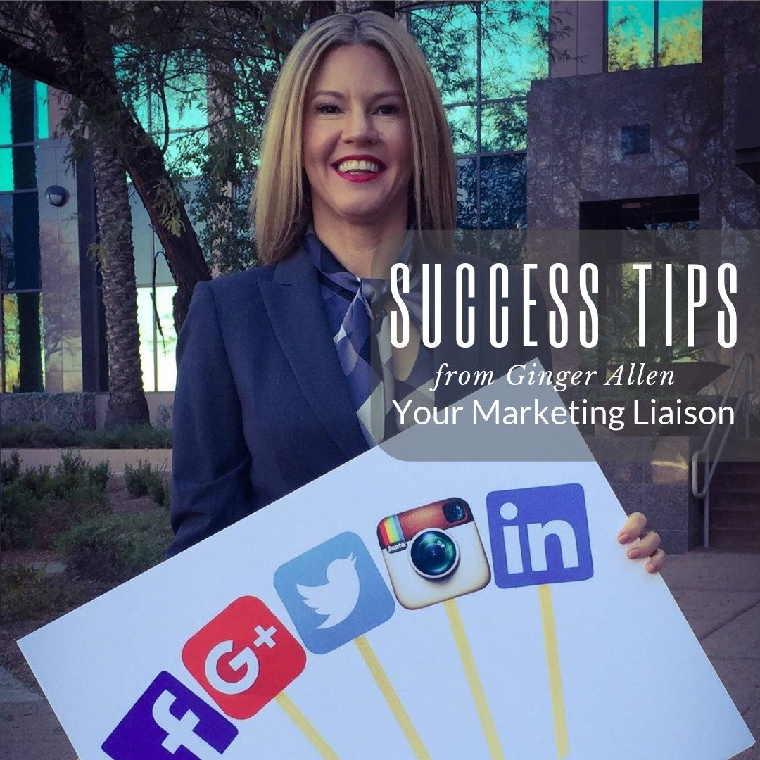 Image of Ginger Allen with Success Tips