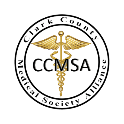 Logo for Clark County Medical Society Alliance