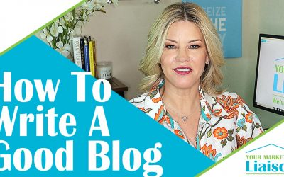 How To Write A Good Blog To Market Your Business