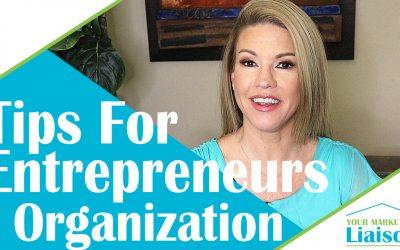 Organization – Success Tips for Entrepreneurs (ep 04)